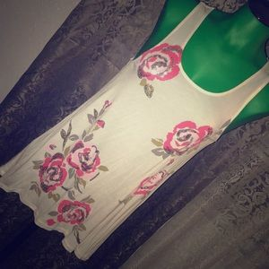 INC floral print top